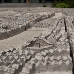 A stone map of London