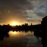 Sunset at Shadwell Basin