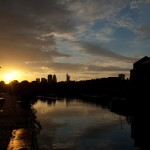 Sunset at Shadwell Basin 2