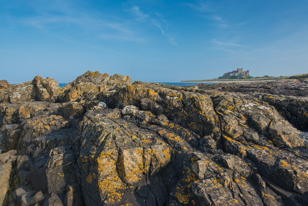 Bamburgh Castle & beach